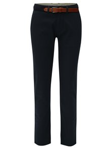 Pantaloni albastri inchis Selected Homme Yard slim fit