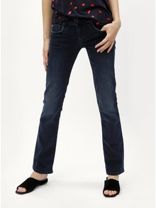 Tmavomodré dámske straight rifle Pepe Jeans