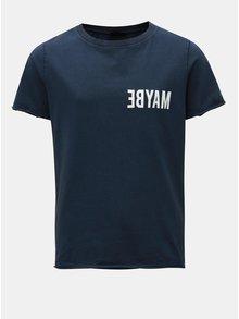 Tmavomodré chlapčenské tričko s potlačou LIMITED by name it