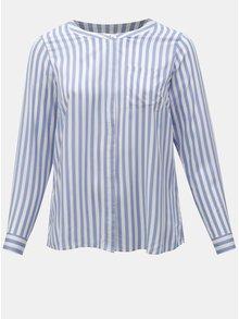 Bielo-modrá pruhovaná košeľa Zizzi