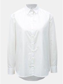 Biela dámska voľná košeľa VAVI