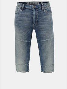 Pantaloni barbatesti scurti albastri regular fit din denim s.Oliver