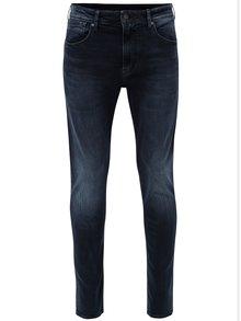 Tmavomodré pánske skinny rifle Pepe Jeans