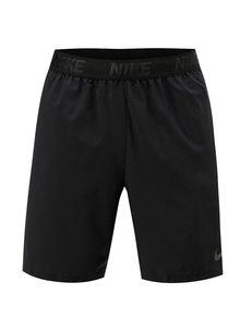 Čierne pánske športové kraťasy s vreckami Nike