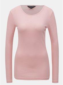 Ružové tričko s dlhým rukávom Dorothy Perkins