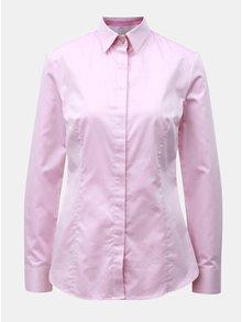 Ružová dámska košeľa so skrytou légou VAVI