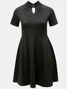 Čierne áčkové šaty Dorothy Perkins Curve