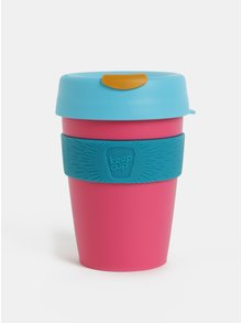 Cana de calatorie albastru-roz KeepCup Original Medium