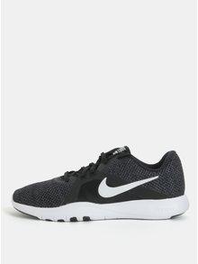 Zeleno–čierne dámske tenisky Nike Flex trainer 8