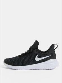 Zeleno–čierne dámske tenisky Nike Renew Rival