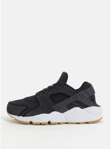 Čierne dámske tenisky Nike Air Huarache Run PRM
