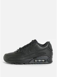 Khaki pánské kožené tenisky Nike Air Max '90 Leather