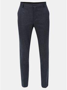 Modré oblekové kalhoty Selected Homme