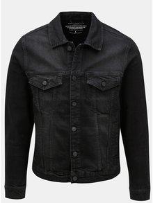 Černá džínová bunda ONLY & SONS Coin