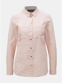 Ružová košeľa Dorothy Perkins
