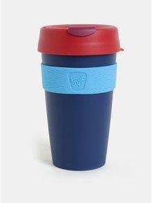 Červeno-modrý cestovní hrnek KeepCup Original Large