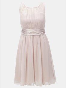 Světle růžové šaty se stuhou na zavazování Dorothy Perkins