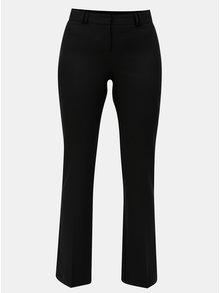 Černé společenské kalhoty s puky Dorothy Perkins