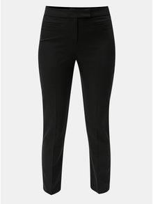Čierne spoločenské nohavice s vysokým pásom Dorothy Perkins