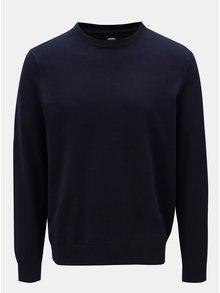 Tmavomodrý sveter Burton Menswear London