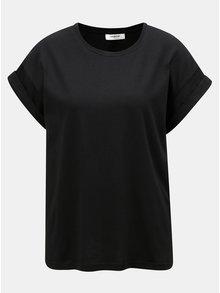 Čierne oversize tričko Moss Copenhagen