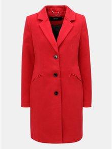 981b90dc3d Červený kabát s vreckami VERO MODA