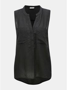 Bluza neagra cu buzunare Jacqueline de Yong Elba