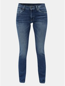 Blugi albastri slim din denim Pepe Jeans