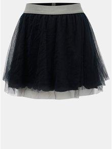 Tmavomodrá tylová sukňa Blue Seven