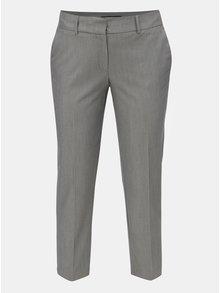 Sivé melírované nohavice s pukmi Dorothy Perkins
