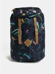 Modrý dámský vzorovaný batoh The Pack Society 23 l