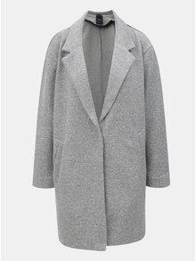 Šedý dámský vzorovaný kabát Broadway Hiro