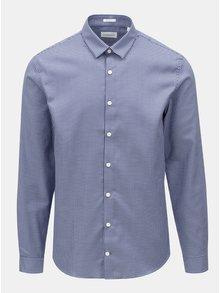 Bílo-modrá vzorovaná košile Lindbergh