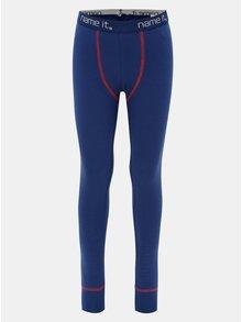 Modré klučičí podvlékací kalhoty Name it