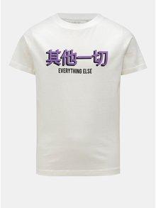 Bíle klučičí tričko s krátkým rukávem LIMITED by name it Victoreno