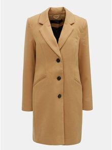 Hnědý kabát s kapsami VERO MODA