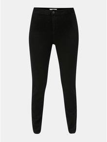 Černé skinny džíny s vysokým pasem Dorothy Perkins