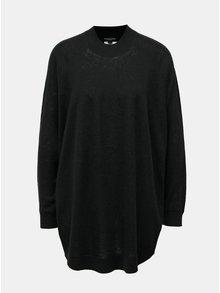 Černý oversize vlněný svetr Selected Femme