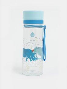 Plastová láhev s motivem nosorožců EQUA 400 ml