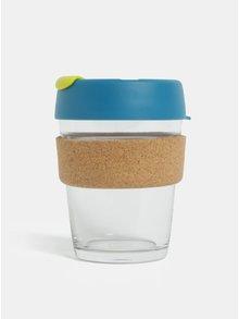 Modrý skleněný cestovní hrnek KeepCup Original Brew Medium