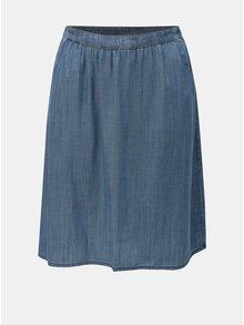 Modrá lehká džínová sukně Ulla Popken