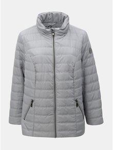 Jacheta de iarna gri matlasata Ulla Popken