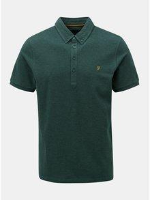 Zelené polo tričko Farah Merriweather
