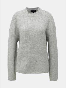 Šedý svetr s příměsí vlny a alpaky Selected Femme Regina