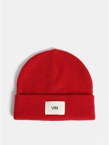 Červená čepice Vero Moda Mari