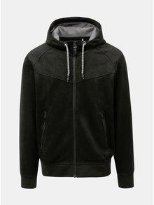 Černá pánská mikinová bunda s.Oliver