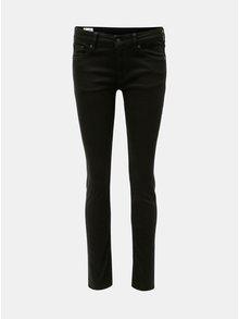 Černé dámské slim džíny s nízkým pasem Kings of Indigo Juno