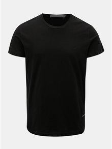 Černé pánské tričko s nášivkou Calvin Klein Jeans