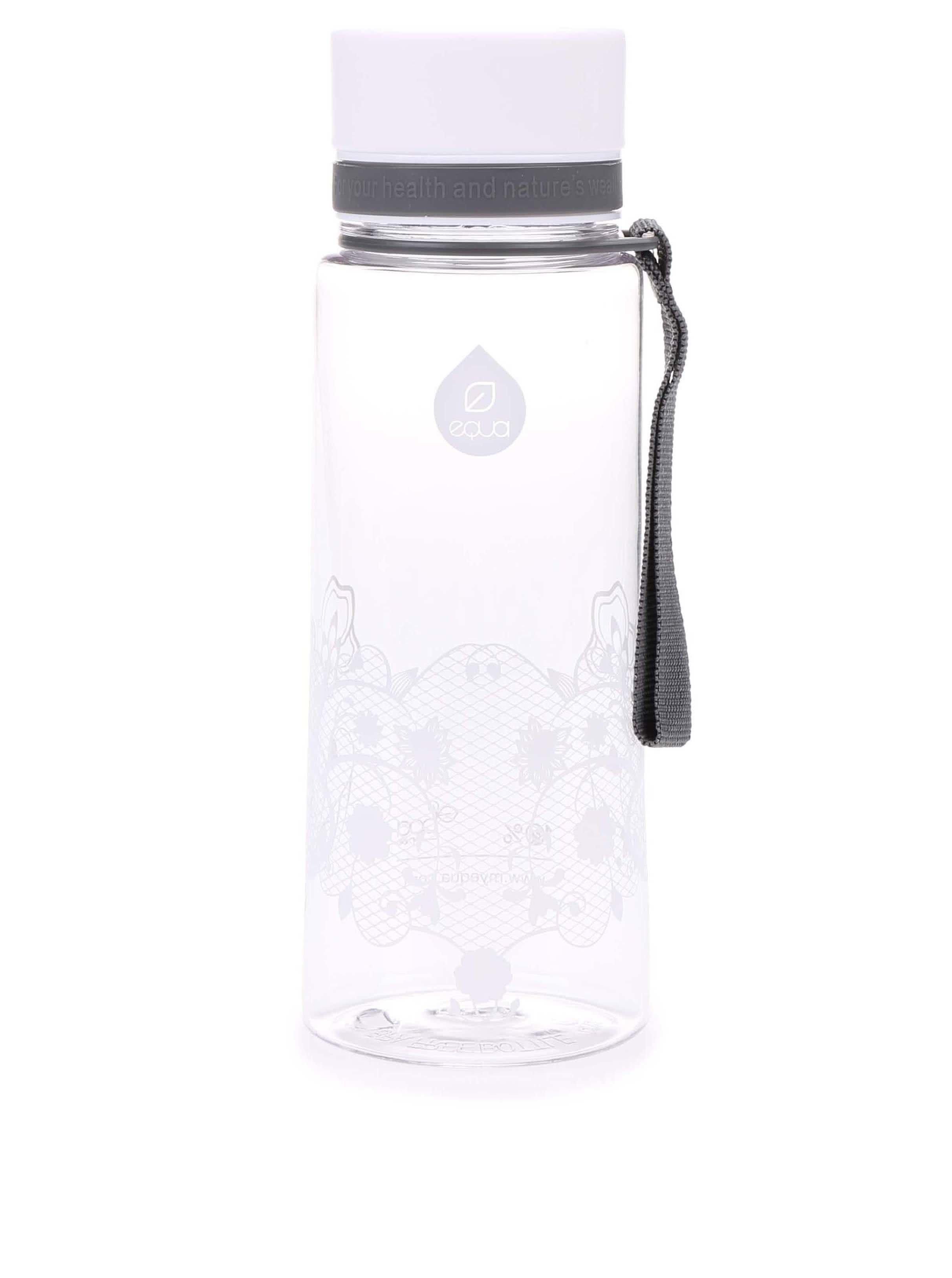Plastová láhev s květinovým vzorem EQUA (600 ml)