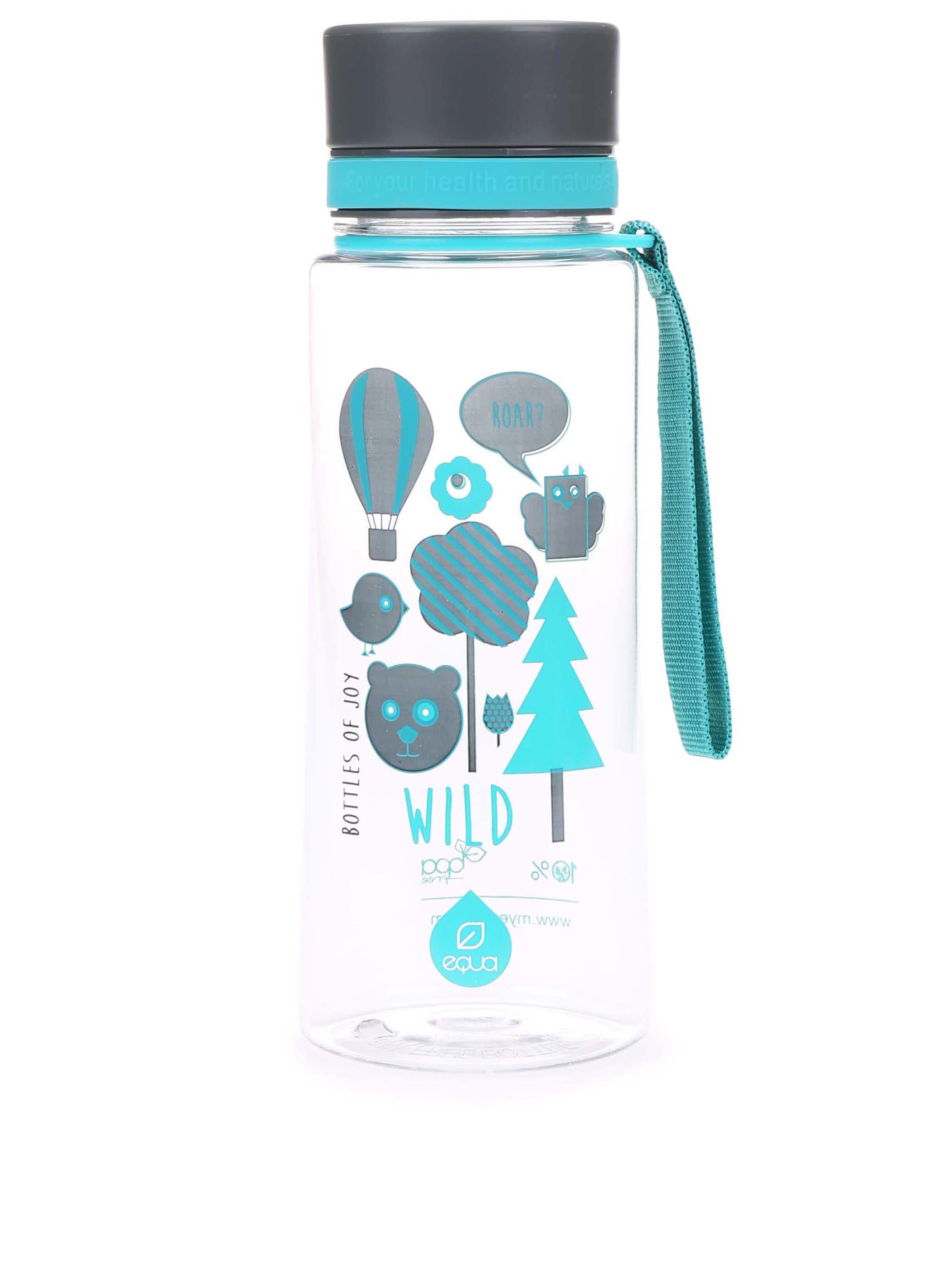 Plastová láhev s motivem lesa EQUA (600 ml)